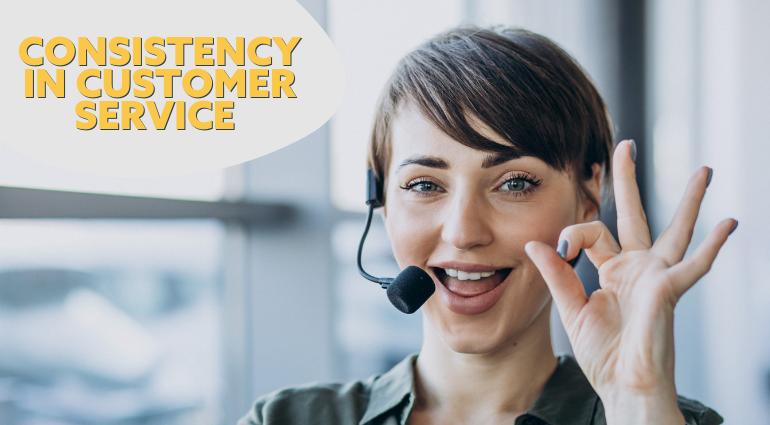 consistent customer service